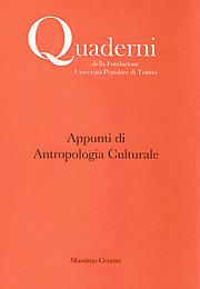Appunti di Antropologia Culturale
