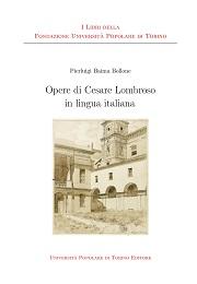 Opere di Cesare Lombroso in lingua italiana